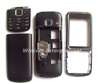 Black Full Housing Housings Cover Case for  Nokia 2710 ( with logo) free shipping  Wholesale