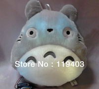 Free  shiping New 1Pcs   big My Neighbor Totoro Shape Fashion Popular  LED Light Up Colorful Pillow
