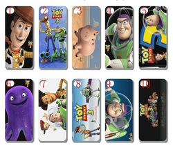 Fast delivery new skin design toy story 3 case for iphone 5 5s bulk 10PCS/lot+free shipping whole sale(China (Mainland))