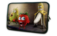 "7"" Fruits Mini Tablet Sleeve Case Bag Cover Pouch For 7"" Barnes & Noble NOOK Simple Touch Reader"