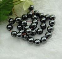 Wholesale 4mm 6mm  8mm 10mm 12mm  Hematite Beads for shamballa Bracelets+10rolles shamballa Cords