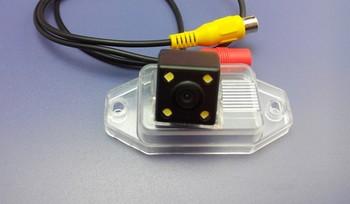 Free shipping Toyota prado bullying reversing camera with led lights