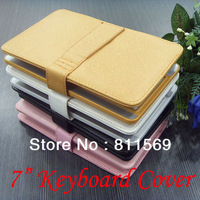 """7"""" plastic keyboard case with USB HOST,MINI or Micro,with free service laser to Russian, French,Arabic ,German, ect"""