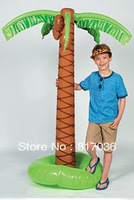 Free shipping , 72 inch(180cm) height inflatable coconut tree , decoration prop ,stage properties