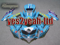 For SUZUKI 2008 2009 GSXR600 750 GSX-R600 750 K8 GSXR600 GSXR750 08 09 Brand new RIZLA blue Fairing