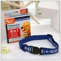 Free Shipping Dog Cat Collars Healthy Pet Collars Harley Baby Elimination Flea & Collar Pet Health Supplies 50PCS/LOT
