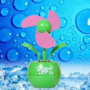 Free Shipping 10Pcs/Lot Home small gifts mini usb computer fan small home appliance(China (Mainland))