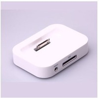 Free shipping 10pcs/lot  Dock Cradle Sync Charger Station for Apple IPHONE4S 4G 3GS