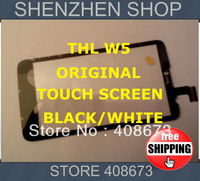 Original THL W5 New Touch Screen Digitizer/Replacement black/white Phone Free ship Airmail  + tracking code