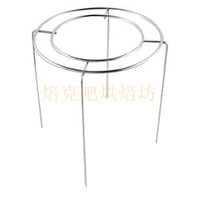 Three stainless steel cake cooling rack net chiffon cake buckle cake fork small sn4194