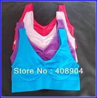 3pcs/set Ahh Bra As on TV Rhonda Shear Seamless Leisure Bra 7colors free shipping