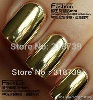 Free shipping, Fashion star metal nail art false nail patch membrane paper
