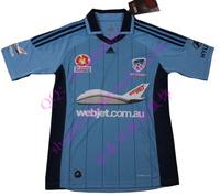 12 - 13 homecourt 10 sydney fc jersey soccer jersey blue