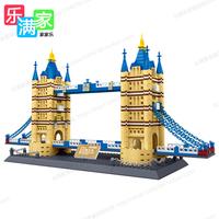 Wange 8013  the Tower Bridge of London Building Blocks Set 3D Puzzle ABS
