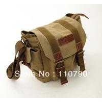 Canvas DSLR SLR Camera Shoulder Bag Backpack Rucksack Bag With Inner Tank Bag For Sony Canon Nikon Olympus