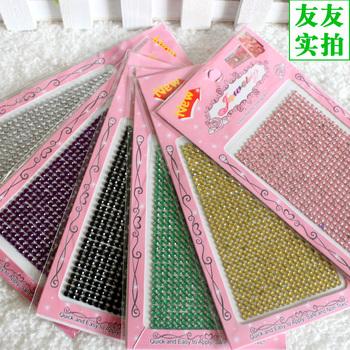 Mobile phone stickers mobile phone rhinestone pasted phone case sticker rhinestone three-dimensional diamond diy material kit