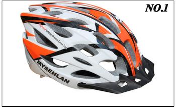 Free shipping 2013 high quality EPS sport cycling helmet super light MYSENLAN bike helmet adult bicycle helmet 5 colors 017