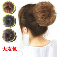 Free shipping Button meatball head wig bag fluffy wig hair curly hair bag maker wig ring bud head