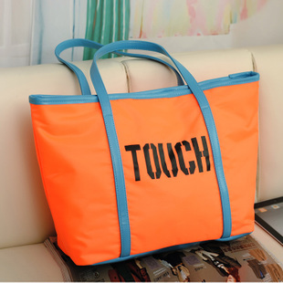 2013 women&#39;s handbag bag spring shopping bag color block sugar jelly transparent bag cross-body neon(China (Mainland))