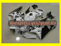Injection Mold For 2005 2006 HONDA CBR600RR CBR 600RR F5 CBR600 RR 05 06 White blk Fairing body kit