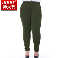 Free shipping 2013 New Arrival Plus size long trousers ultralarge elastic skinny clothing women oversize pencil pants,2XL-8XL