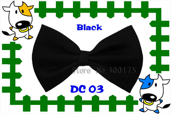 Promotion / Kids/ Children/ Toddlers black self tie bowtie / Cat Dog Teddy Bear Bow Tie / Cheap Price Promotion Free Shipping(China (Mainland))
