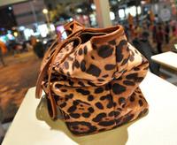 New zipper Leopard luxury lady handbag women shoulder bag Portable female bags free shipping BBG0208