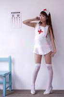 WOMEN LINGERIE WHITE Love nurse UNIFORM SUIT