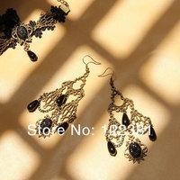 Free shipping! Personally gothic style earrings, long tassels earring,beaded pearl earring wholesale on hot sale