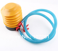 Free Shipping 10pcs/lots wholesales 4 inch balloon air pump , foot pump , balloon inflator,Best quality