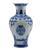 Achievo jingdezhen ceramic quality blue and white porcelain vase at home decoration crafts gift decoration