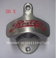 20 pieces of PEPSI Cola Metal Polished Wall Mounted Bottle opener wall mount bottle openers