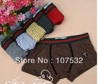 4pcs/lot Free shipping,Men's Sexy Underwear Boxer Shorts Modal Underpants
