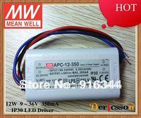 MEAN WELL 12W 350mA 9-36VDC APC-12-350