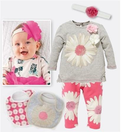 победа/детская одежда Next розовый цветок волос