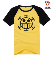 cosplay anime costume one piece zoro Trafalgar Law  Cotton Summer short-sleeved Cartoon T-shirt