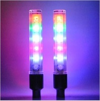 Free shipping 5 LED Tire light 32 different lighting Colorful Car light Bicycle Accessories/Bicycle Flashlight
