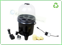 5 Net cup AERO-POT, Aeroponic Portable Heated Propagator, - BIG METAL MISTER!  with cycle timer . Free shipping