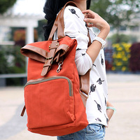 Free ship Bags NEW spring backpack canvas bag student school bag backpack travel bag preppy style