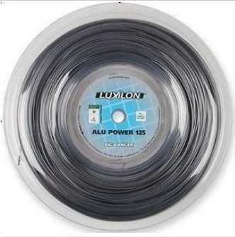 Luxilon alu power 220m tennis string Silver 16L