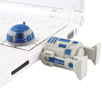 retail genuine 1GB 2GB 4GB 8GB 16GB 32GB 64GB usb flash drive STAR WAR R2-D2 robot silicone Free shipping