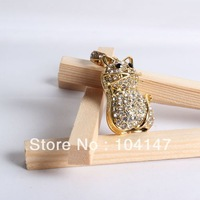 N162 NEW Fashion Jewelry Cat 100% real 4/8/16/32/64GB USB 2.0 Flash Memory Stick Pen Drive , Free shipping