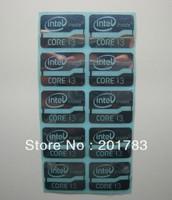 10PCS intel inside CORE i3 Metal Sticker Logo 21x 16MM for laptop computer