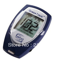 Health care GRACE TRACK rapid blood glucose meters glucometers monitoring blood sugar+25 test strips and 25 lancets