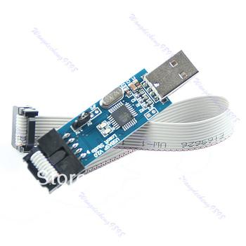 Free Shipping 1pc USB ISP Programmer For ATMEL AVR ATMega ATTiny 51 Development Board