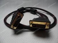65FT 20m  DVI-D Digital to DVI D Dual M/M Cable 24+1 Pin Male Wire