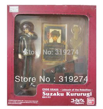 "Wholesale/Retail Fashion Free Shipping FS Suzaku Kururugi 14cm/5.5"" Figure Code Geass Lelouch of the Rebellion Clamp Japan"