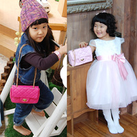 Fashion child handbag fashion bag princess messenger bag female child small bag multicolor