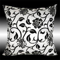 Free Shipping! Pure White SOFA THROW PILLOW CASES CUSHION COVERS