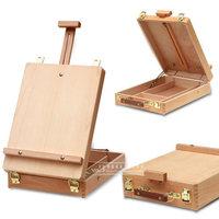 Fillet Desktop Laptop Box Easel Painting Hardware Accessories Multifunctional Painting Suitcase Art Supplies